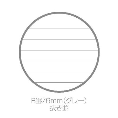 B6リングノート[SOLID]アイス
