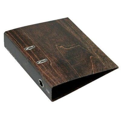 A4レバーファイル75[WOOD]ブラウン