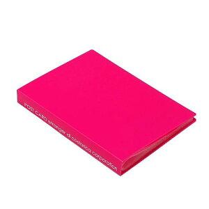 ポストカードホルダー 30ポケット ピンク SOLID クリアファイル 収納 シンプル 公式通販サイト