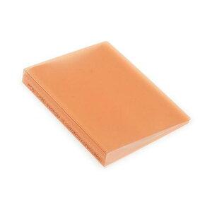 ポストカードホルダー 30ポケット オレンジ TRP クリアファイル 収納 シンプル 公式通販サイト