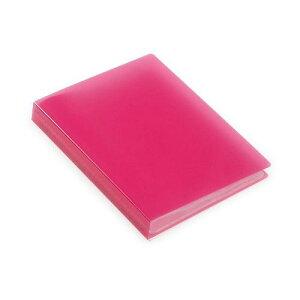 ポストカードホルダー 30ポケット ピンク TRP クリアファイル 収納 シンプル 公式通販サイト