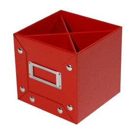 ペンスタンド レッド CUOIO 皮革調 収納 シンプル 公式通販サイト