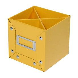 ペンスタンド イエロー CUOIO 皮革調 収納 シンプル 公式通販サイト