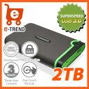 トランセンド TS2TSJ25M3 [USB3.0対応ポータブル外付けHDD 2TB]