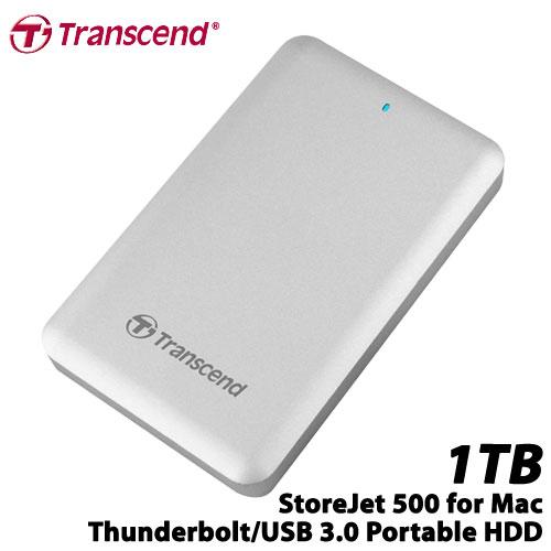 トランセンド TS1TSJM500 [StoreJet 500 Thunderbolt/USB 3.0対応 ポータブルSSD 1TB]