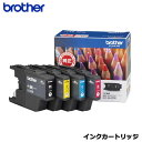 ブラザー インクカートリッジ LC12-4PK [お徳用4色パック]【純正品】