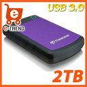 トランセンド TS2TSJ25H3P [StoreJet 25H3P USB 3.0 2TB]