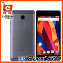 【送料無料】ZTE Blade V580 Gray 【SIMフリー Android 5.5インチ液晶】