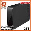 【送料無料】バッファロー HD-LC2.0U3-BK [USB3.0 外付けハードディスク 2TB ブラック]