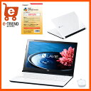 【送料無料】PC-SN16CJSA8-1 [LAVIE Smart NS(e)(Cel-3855U/4G/500GB/15.6/DSM/マウス/Win10/ホワイト)]