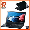 【送料無料】PC-SN16CLSA8-1 [LAVIE Smart NS(e)(Cel-3855U/4G/500GB/15.6/DSM/マウス/Win10/ブラック)]