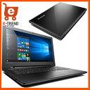 【送料無料】Lenovo(レノボ・ジャパン)/80M300NWJP [ideapad 300(Cel-N3160 4G 500GB 15.6 Win10 Bla...