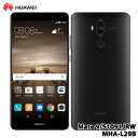 【送料無料】Huawei(ファーウェイ)/Mate 9/Black/MHA-L29B [Mate 9/Black/51091JRW]