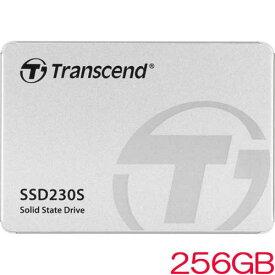 トランセンド TS256GSSD230S [256GB SSD230シリーズ 2.5インチ SATA3 3D TLC搭載 アルミ筐体]