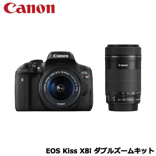 キヤノン EOS Kiss X8i ダブルズームキット