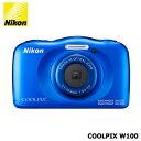 Nikon COOLPIX W100BL ブルー