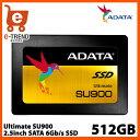 【送料無料】ADATA ASU900SS-512GM-C [512GB SSD Ultimate SU900 2.5インチ SATA 6G MLC(3D NAN...