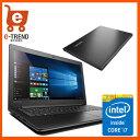【送料無料】80TV0264JP [IdeaPad 310 (i7-7500U 4G 500G win10 Black)]