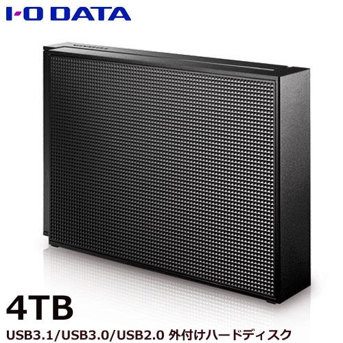 アイオーデータ EX-HD4CZ [USB 3.0/2.0対応 外付ハードディスク 4TB ブラック]