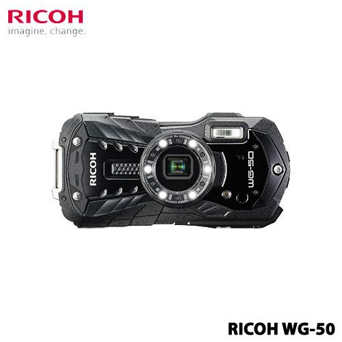 WG-50BK [防水デジタルカメラ WG-50 (ブラック)]