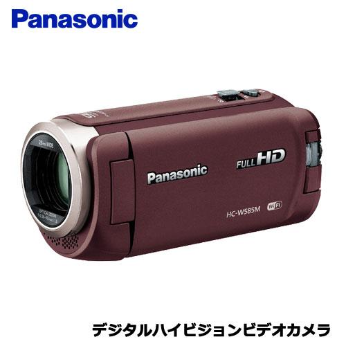 HC-W585M-T [デジタルハイビジョンビデオカメラ (ブラウン)]