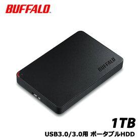 バッファロー HD-NRPCF1.0-BB [USB3.0 ポータブルHDD 1TB BUFFALO バッファロー]