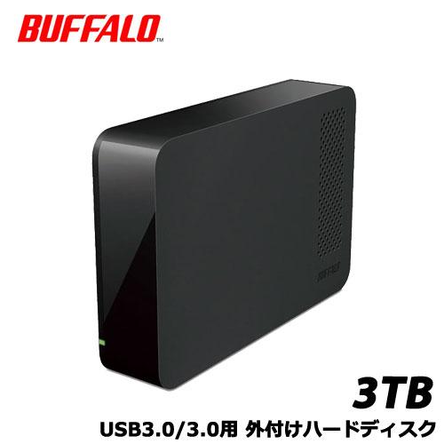 バッファロー HD-NRLC3.0-B [USB3.0 外付けハードディスク 3TB BUFFALO バッファロー]