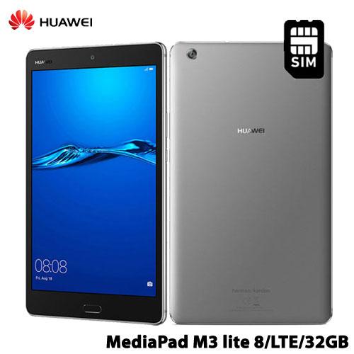Huawei MediaPad M3 lite 8/LTE/32GB/Gray [HUAWEI MediaPad M3 Lite 8 LTE 32GB Gray 53019695]