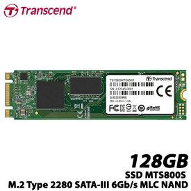 トランセンド TS128GMTS800S [128GB SSD MTS800S M.2 Type 2280 SATA-III 6Gb/s MLC NAND]
