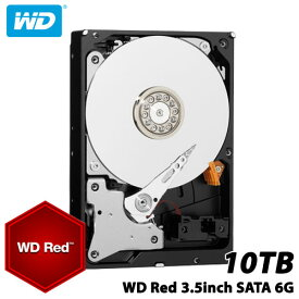 WD WD100EFAX [WD Red(10TB 3.5インチ SATA 6G 5400rpm 256MB)]