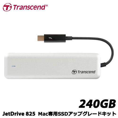 トランセンド TS240GJDM825 [240GB JetDrive 825 Thunderbolt PCIeポータブルSSD]