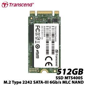 トランセンド TS512GMTS400S [512GB SSD MTS400S M.2 Type 2242 SATA-III 6Gb/s MLC NAND]