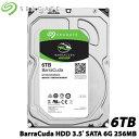 SEAGATE ST6000DM003 [BarraCuda(6TB HDD 3.5インチ SATA 6G 256MB)]