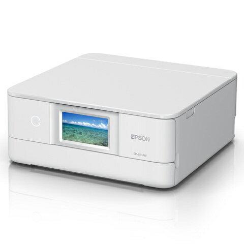 EP-881AW [A4 IJプリンター/多機能/Wi-Fi/4.3W/ホワイト]