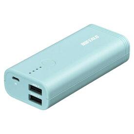 バッファローコクヨサプライ BSMPB5210P2BL [モバイルバッテリー 5200mAh 2ポート ブルー]
