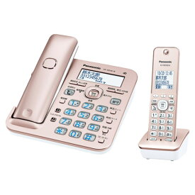 RU・RU・RU(ル・ル・ル) VE-GD56DL-N [コードレス電話機(子機1台)(ピンクゴールド)]
