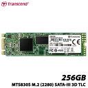 トランセンド TS256GMTS830S [256GB SSD MTS820S M.2 Type 2280 SATA-III DDR3キャッシュ 3D TLC NAND 5年保証]
