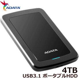 ADATA HV300 AHV300-4TU31-CBK [ADATA ポータブルHDD 4TB]