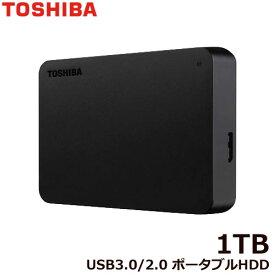 東芝 ポータブルHDD HDTB410FK3AA-D [ポータブルHDD 1TB ブラック]