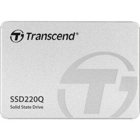 トランセンド TS500GSSD220Q [500GB SSD220Qシリーズ 2.5インチ SATA3 QLC NAND 3年保証]