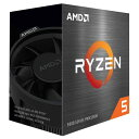 AMD 100-100000065BOX [Ryzen 5 5600X (6コア/12スレッド、3.7GHz、TDP65W、AM4) BOX with Wraith Stealth]