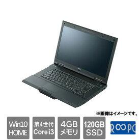 NEC ☆永久保証の美品中古PC!☆VK24LANEHRB [VersaPro VK24LANEH (Core i3 4GB SSD120GB 15.6 Win10Home)]