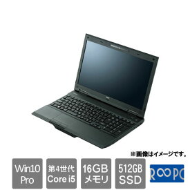 NEC ☆永久保証の美品中古PC!☆VK25TXZRB [Versapro VK25 (Core i5 16GB SSD512GB Win10Pro 15.6)]