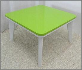 【今だけ送料無料】【激安】「KF 正方形-60単」テーブル 家具調 可愛い 炬燵 四角 座卓 食卓 ワンルーム 子供部屋【送料1000円】【消費税込み】
