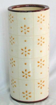 陶器製の傘立て(#05471) 4.5kg