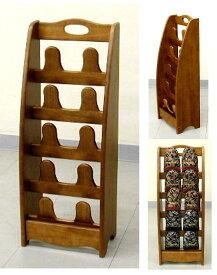 木製のスリッパスタンド 5段(SR-2705) 3.0kg