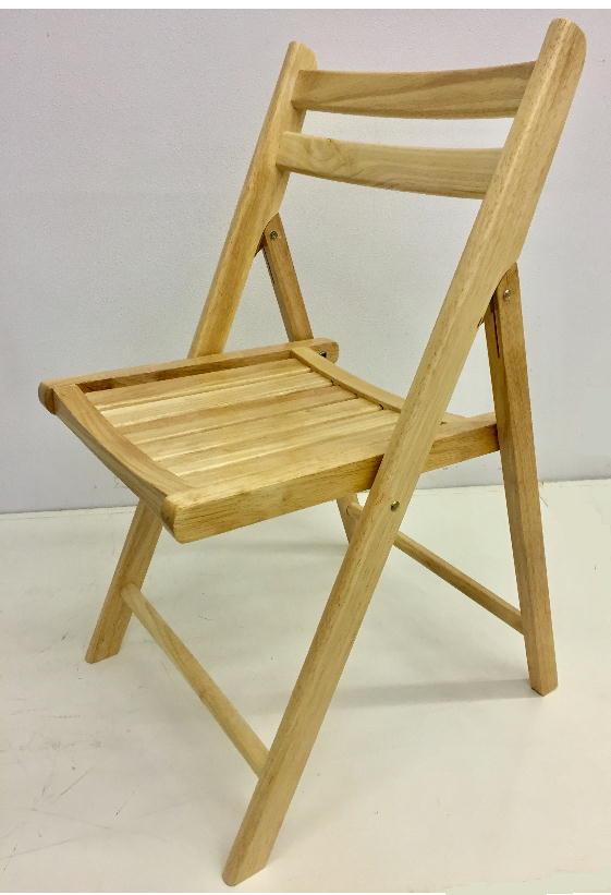 木製 折りたたみ椅子 木座ナチュラル 4.1kg[NO.367 ナチュラル]