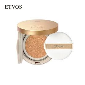 エトヴォス ( ETVOS ) みずみずしく使うほどナチュラルなツヤ肌へ導く「ミネラルグロウスキンクッション(ケース+パフ付) 12g SPF32 PA+++」【30日間返品保証】 ミネラルファンデーション ベースメイク UV クッションファンデーション 日本製 クッションファンデ