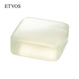 エトヴォス(ETVOS)公式ショップ 【洗顔・角質ケア】長期熟成で保湿成分をギュッと濃縮した透明枠ねり石けん「クリアソープバー80g」【etvos】【30日間返品保証】