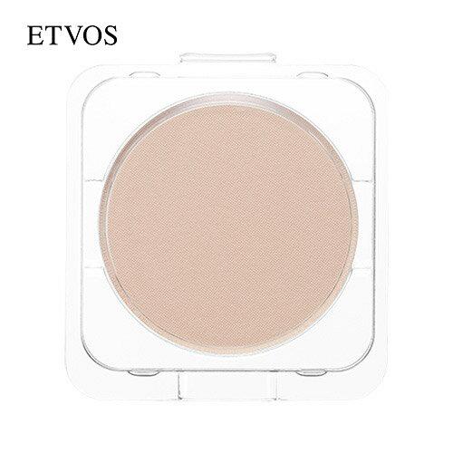 エトヴォス(ETVOS)公式ショップ 肌を美しく見せる仕上げ用プレストパウダー「ミネラルシルキーベールリフィル(詰め替え用)パフ付/SPF20 PA++」【30日間返品保証】